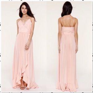 Heartloom Belle Teigen Gown in Mink Blush M